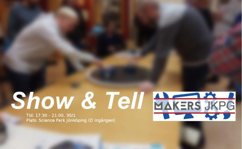 Makersträff – Show & Tell