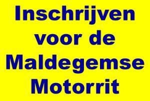 Inschrijven voor de Maldegemse Motorrit