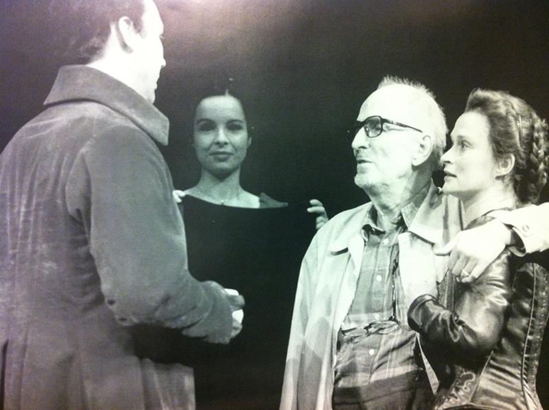 Malena Laszlo regisserad av Ingmar Bergman i Maria Stuart