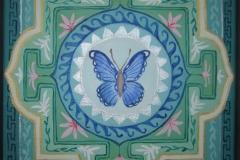 Mandala sommerfugl
