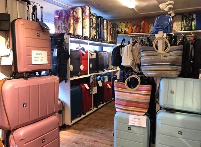 Bild inifrån butiken, Malungsbutiken i Norrtälje