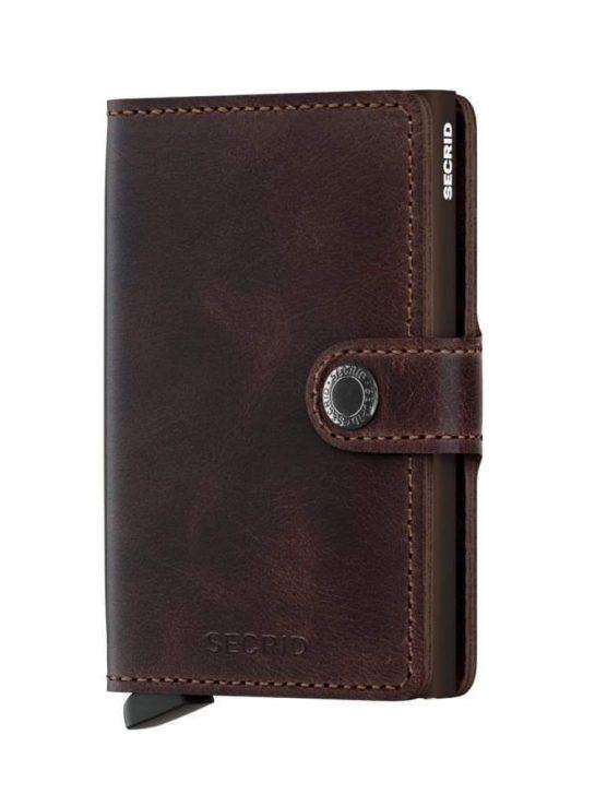 secrid plånbok brun