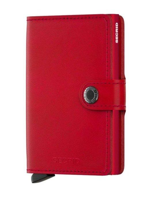 secrid wallet red
