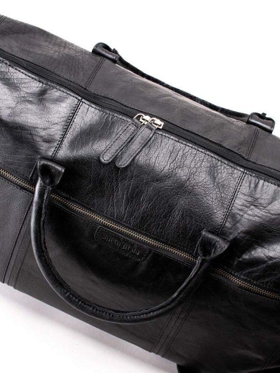 Weekendbag i skinn hos Malungsbutiken