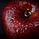 Äpple i regn