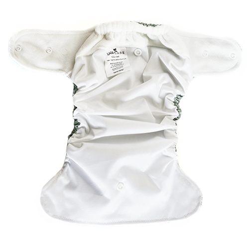 Moderne stofble fra WeeCare i grå