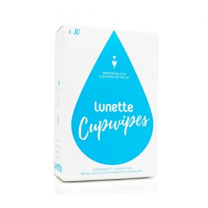 Lunette Cupwipes pack