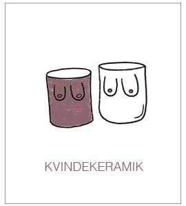 Kvinde-keramik