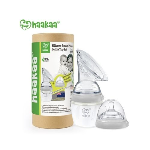 Haakaa Brystpumpe med flaskesut - Gen.3