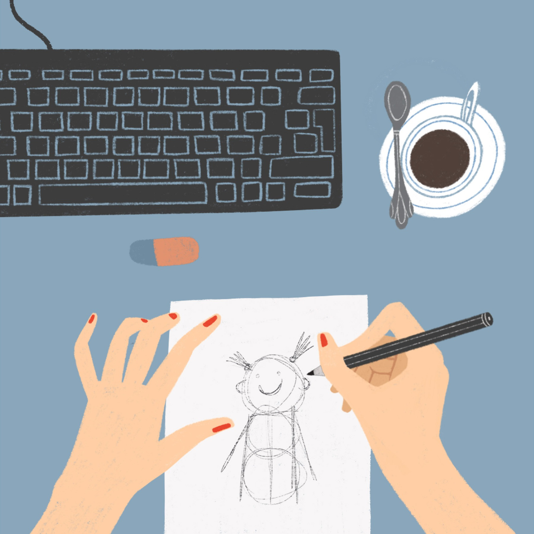 COFFEE AND DRAWINGS