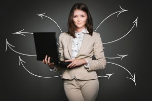 analytics woman