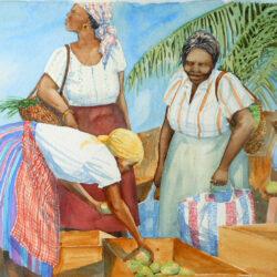 Market Women by Anne Miller