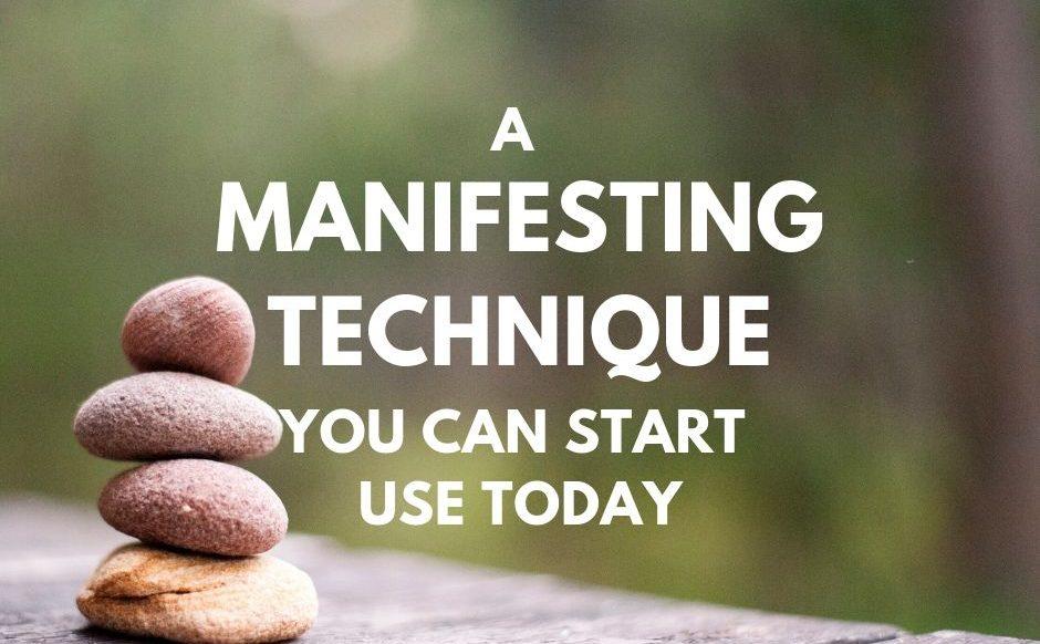 manifesting technique