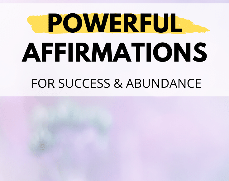 powerful affirmations to boost your manifestations