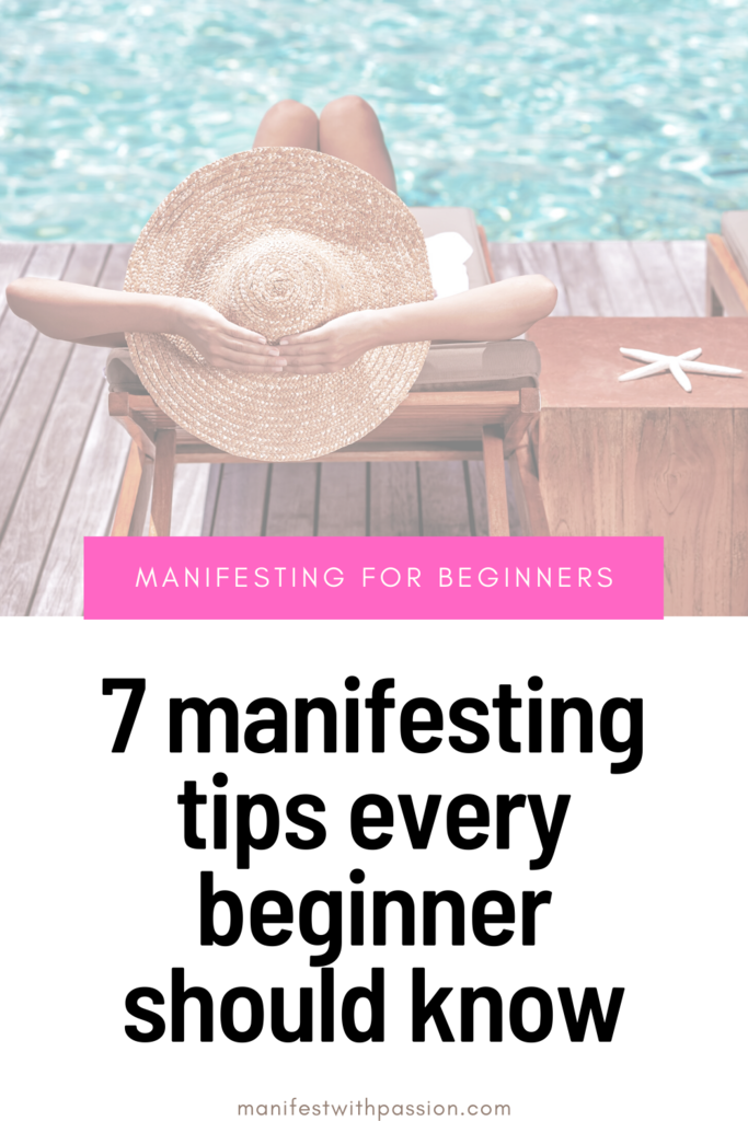 manifesting tips