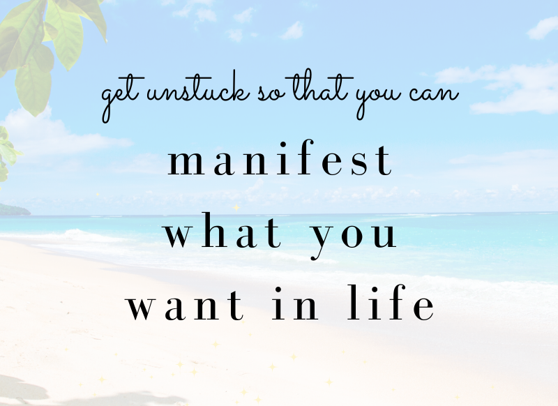 manifest what you want in life
