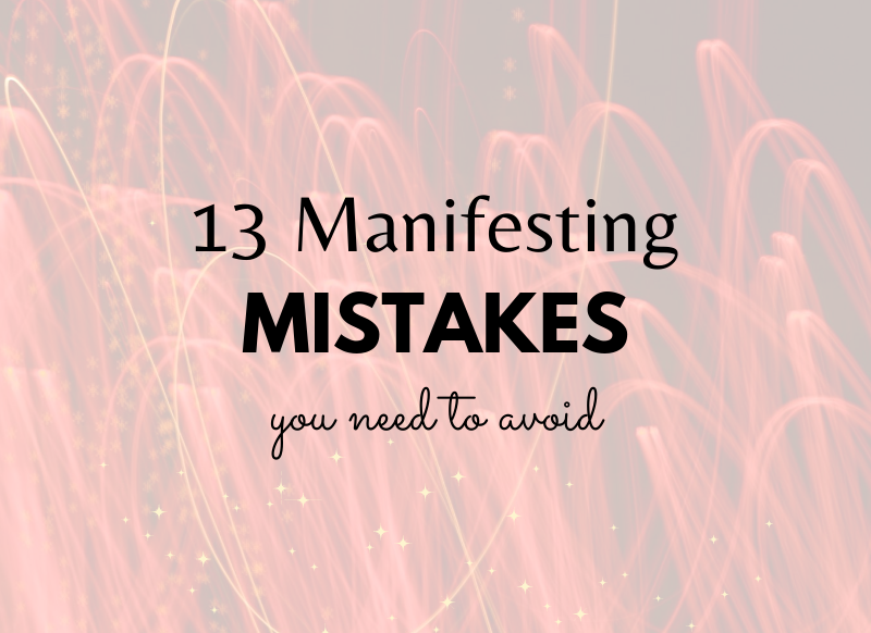 manifesting what you want
