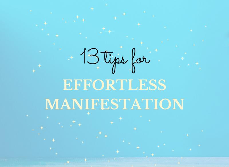 effortless manifestation