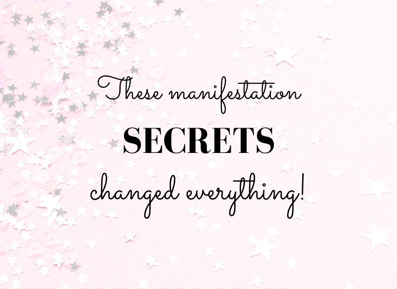 manifestation secrets
