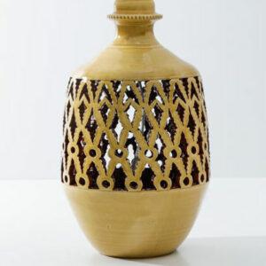 håndlavet keramik lampefod