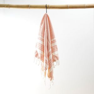 Hammam dish towel red