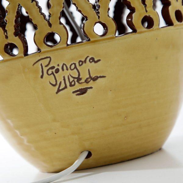 Signatur - Andalusisk keramik kampe