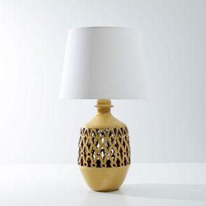 Andalusisk keramik lampe med skærm