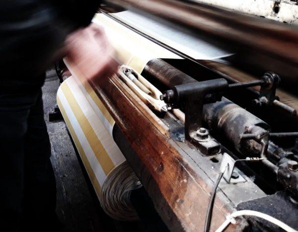 Håndvævning af Hammam tekstil