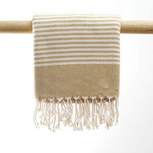 hammam badehåndklæde sennepsgul manipura living
