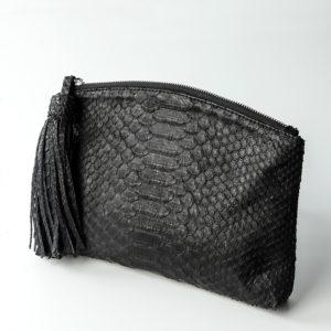 Håndtaske i python skind - Kundalini Beauty Clutch