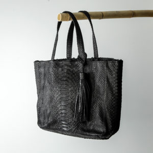 kundalini Big Shopper bag python skind sort