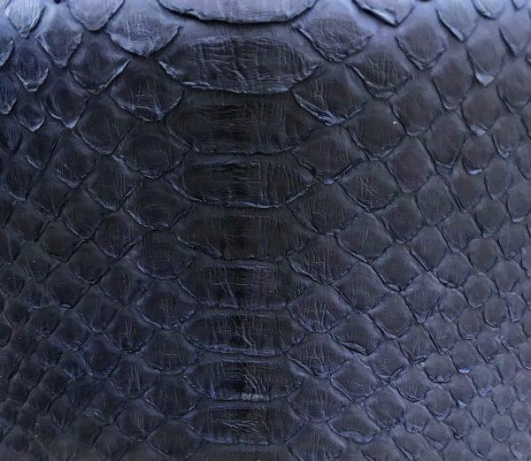 kundalini python skind navy blue