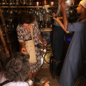 shopping - gamle fade i Marrakesh