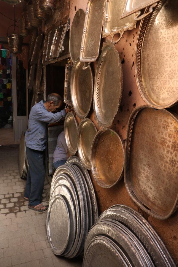 Manipura Living hos Aladdins hule i Medinaen Marrakesh