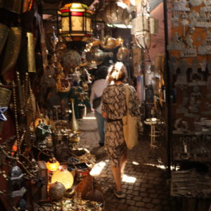 Manipura LIving shoppetur i Medinaen Marrakesh