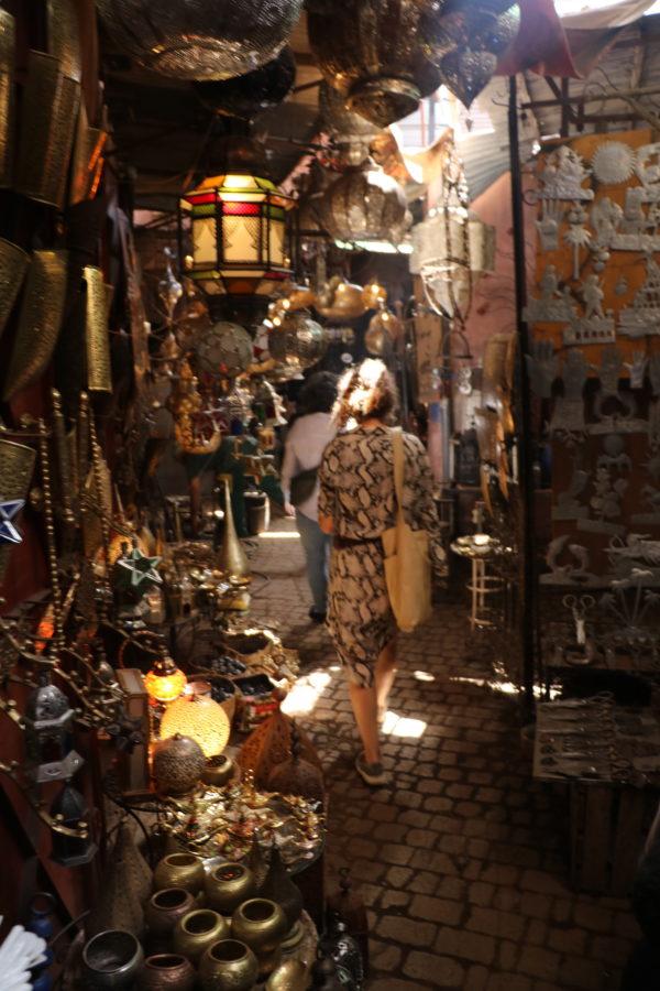 Manipura LIving shoppetur i Medinaen Marrakesh