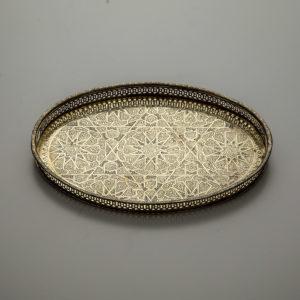 Manipura Living vintage fad fra Marokko kobber ovalt
