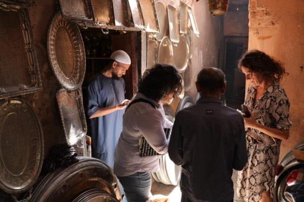 vintage fade - workshop i stræden Marrakesh