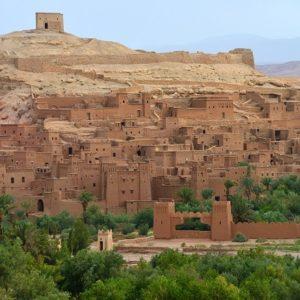 Berber landsby Atlas bjergene