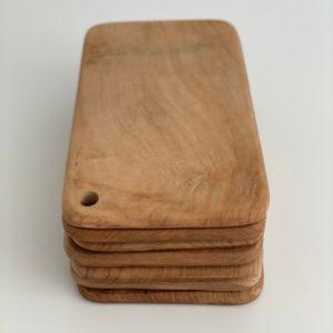 Bali skærebræt - teak, M