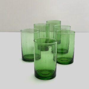 grønne genbrugsglas