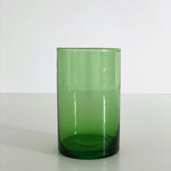 casablanca grønt genbrugs glas