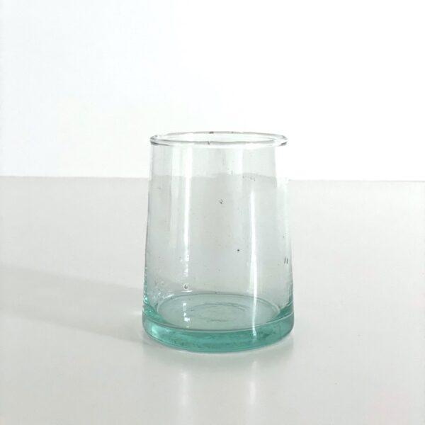 mundblæst Glas FEZ - M klart genbrugsglas