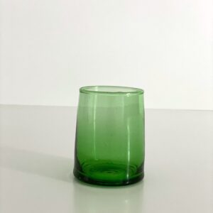 mundblæst Glas FEZ - M grønt genbrugsglas