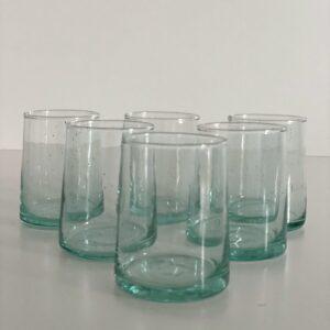 Glas FEZ - M klart 6 stk