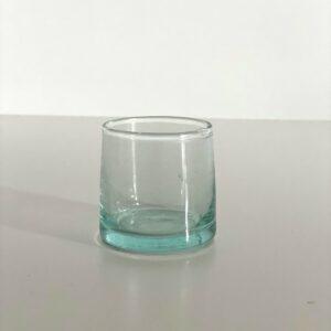 mundblæst Glas FEZ - S klart genbrugsglas