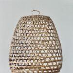 Kyllinge loftslampe XL håndflettet på Bali