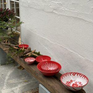 håndlavet keramik og jul