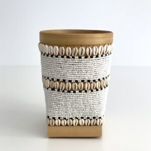 urtepotte Skjuler Bali m perler og konkylier L