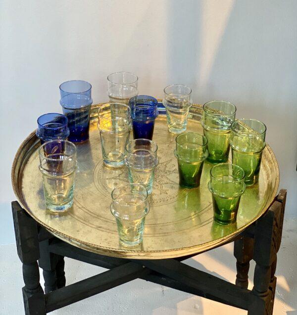 mundblæste genbrugsglas til vand, the, kaffe MARRAKESH glas